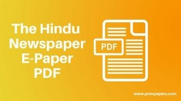 The-Hindu-Newspaper Epaper Download