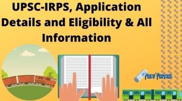 UPSC-IRPS