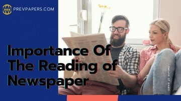 featured image of the importance of newspaper